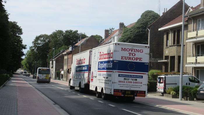 Furniture delivery to Brussels