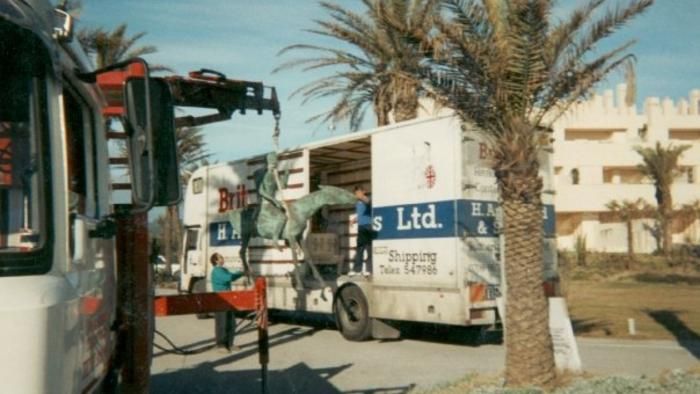 Removals to and from Spain