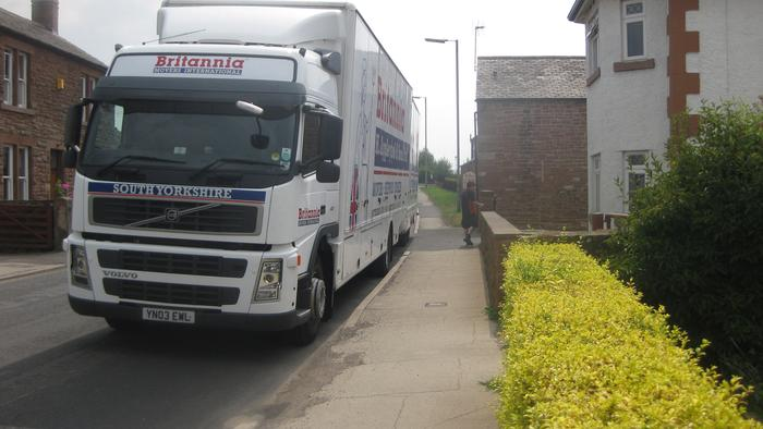 Removal out of storage to Cumbria