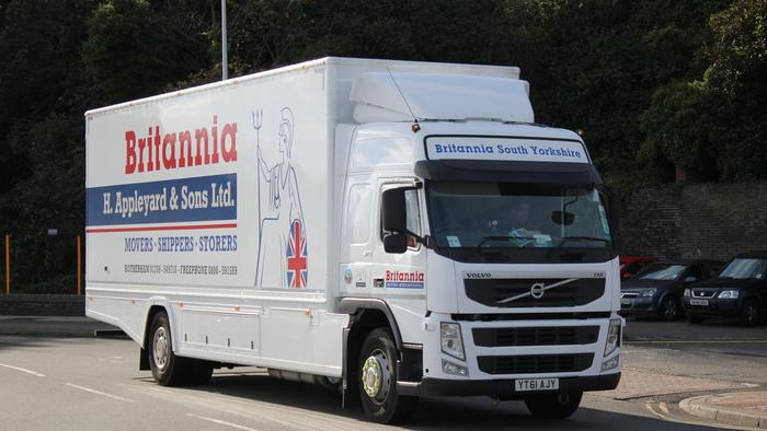 Removals to Belgium from UK
