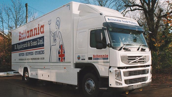 Removals to France .. Door to door service