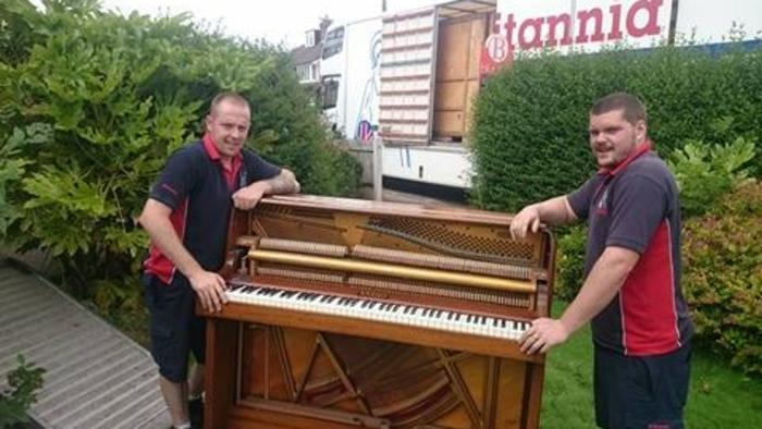 Piano moving in South Yorkshire