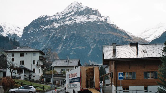 Removals to Grindelwald Switzerland ..Bernese Oberland