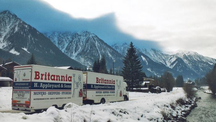 Removals to Cortina Italy