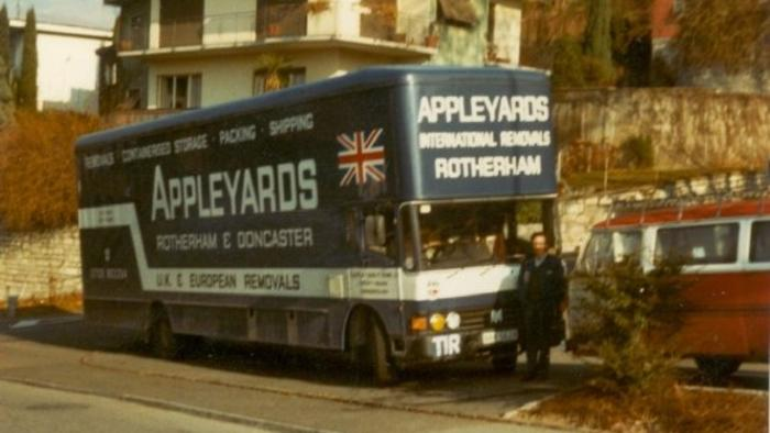 Bedford removal van Switzerland
