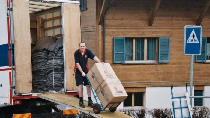 Removal to Grindelwald Switzerland
