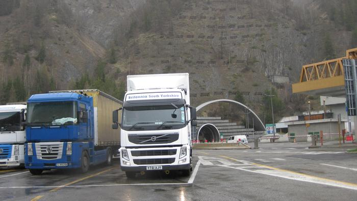 Mont Blanc Tunnel - Italian side