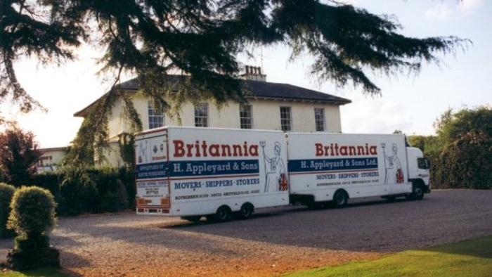 Removals Ireland to Yorkshire