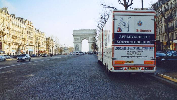 Removals to and from Paris
