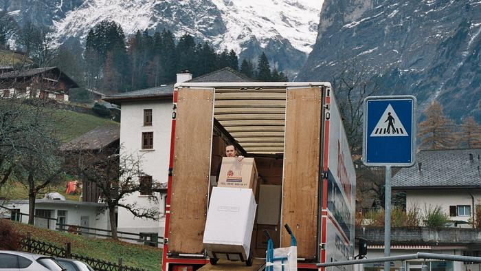 Nice November day in Switzerland ..Removals Switzerland