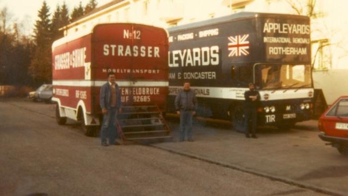Removals to Germany 1980s
