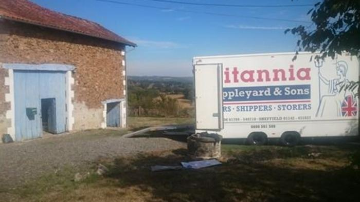 removals to the Limousin