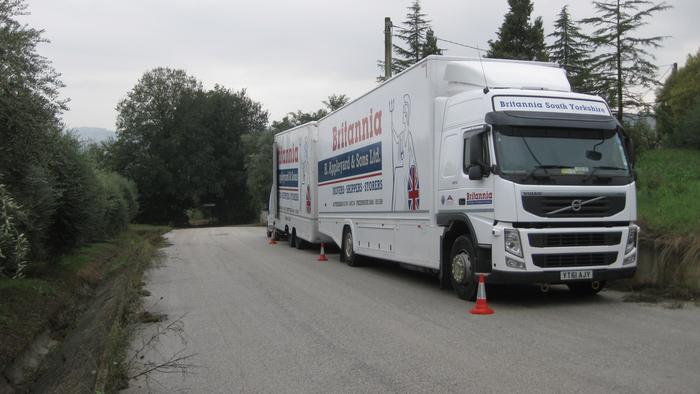 Britannia Movers - Moving to Italy