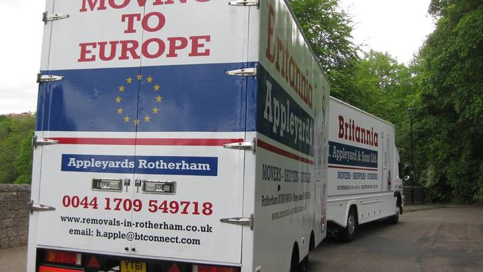 Removals to Europe -Holland from Yorkshire