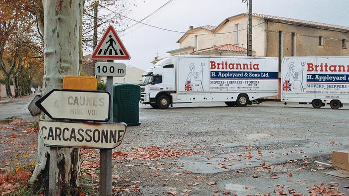 Removals to Carcassonne France