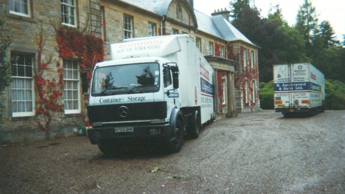 Removals near Aberdeen