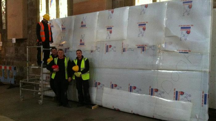 15th Century screen to be stored for 1 year - Sheffield Cathedral