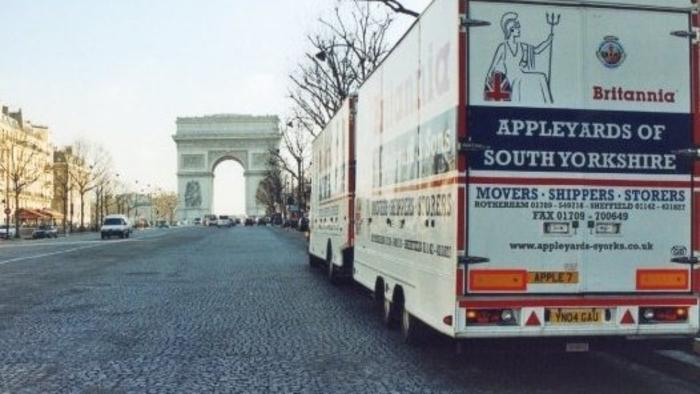 Britannia Movers Paris