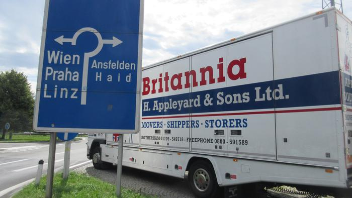Britannia Movers in Austria