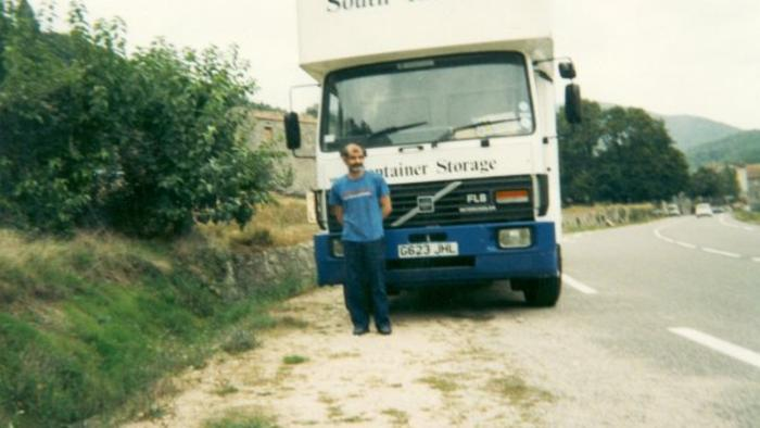 Removal van France 1990's