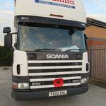 Our Scania has a smile on its face