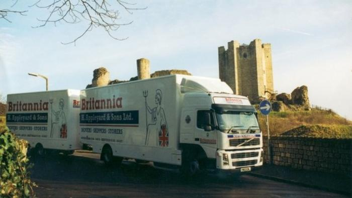 Road train in Conisbrough... Removals South Yorkshire